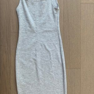 Zara Dresses - Zara Gray Bodycon Dress Size Small
